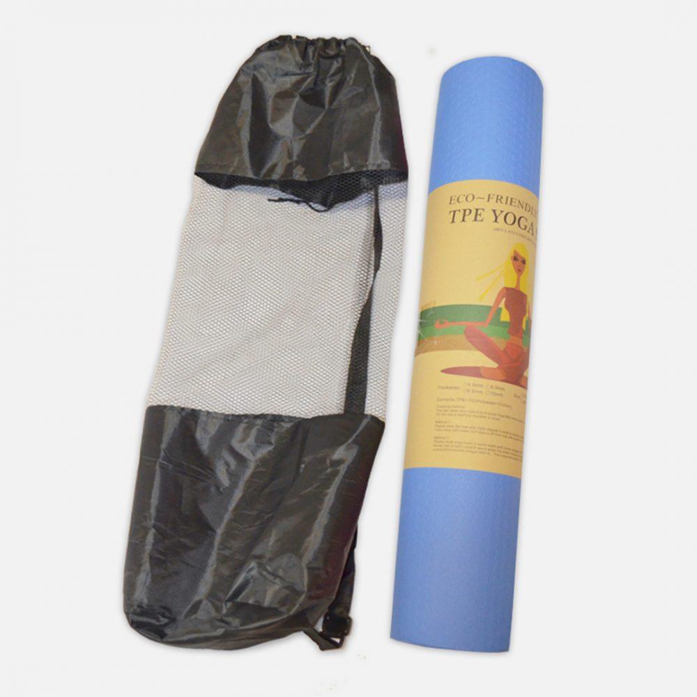 Mat de yoga NBR de 10mm c_bolso porta mat 1