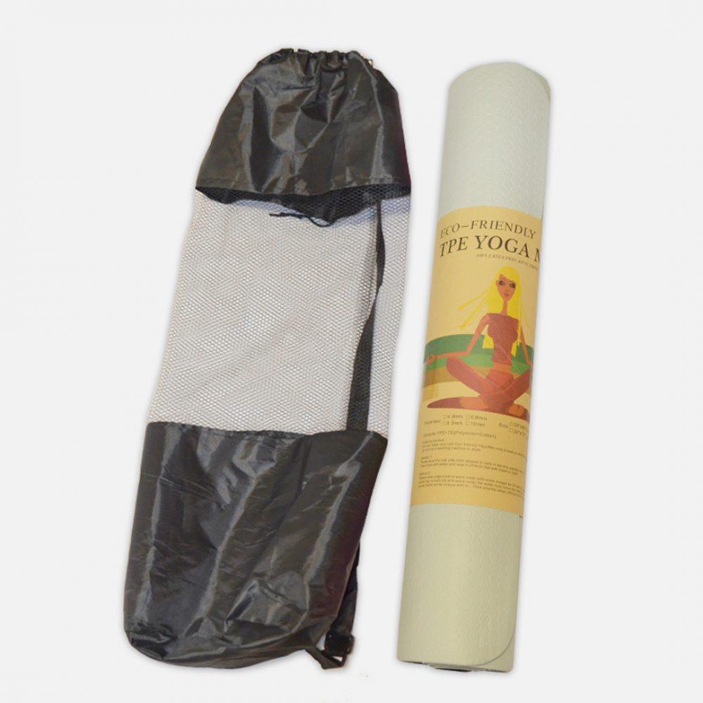 Mat de yoga NBR de 10mm c_bolso porta mat 2